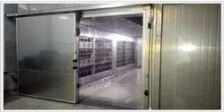Deep-Freezing Evaporator