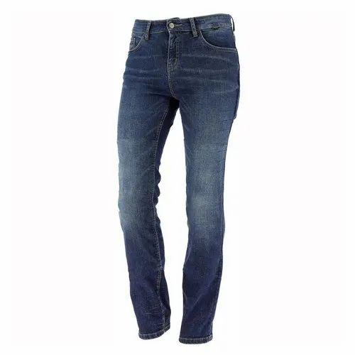 Blue Regular Fit Ladies Denim Jeans, Packaging Type: Packet, Waist Size: 28-36 Inch