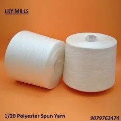 Polyester Yarn 1/20 Psy Wt 20/1 or 20