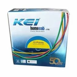 KEI Electrical Wire, Crossectional Size: 1.5 Sqmm, Insulation Thickness: 0.6 Mm