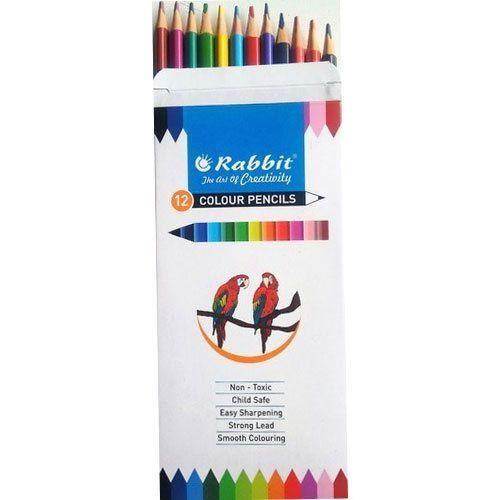 Rabbit 12 Or 24 Color Pencil Premium Colors Rs 50 Packet Id - Premium-color-pencils