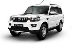 Silver Mahindra Scorpio Cars, S4 Plus Intelli-Hybrid
