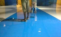 Self Levelling Epoxy Floor Coating Services, Resins