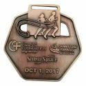 Brass Marathon Medal