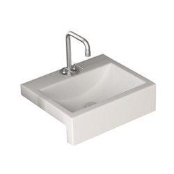 Vento Semi Recessed Wash Basin