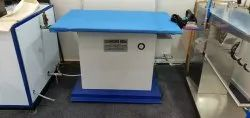 White Vacuum Ironing Table With Inbuilt Boiler, Size: 30*48''