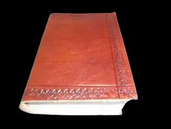Genuine Leather Plain Travel Journal