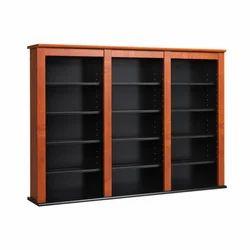 Black Triple Wall Cabinet, Dimensions: 20.95 x 119.38 x 86.36 cm