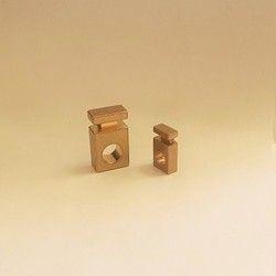 Bon Fixture Brass Part, For Machinery, Gold