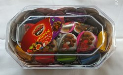 Choco Home Milk Chocolate Assorted Chocolate With Dry Fruits Gift Box, Packaging Type: Plastic Box
