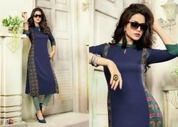 Ladies Long Cotton Kurti