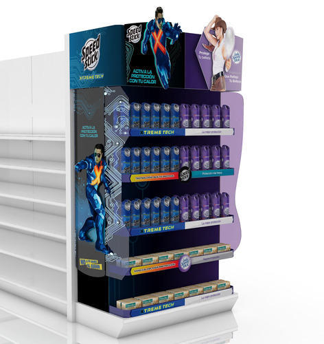 End Caps End Caps Display Racks Manufacturer From Faridabad