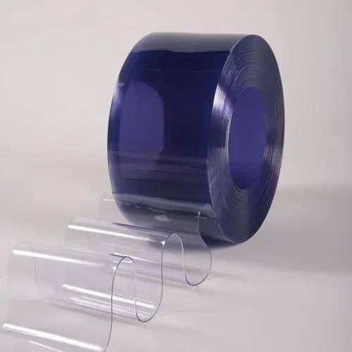 Plain Transparent Freezer PVC Strip Curtain, Thickness: 2 mm, Size: 25 kg