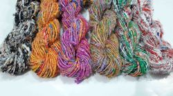 Custom Multi Colored Banana Silk Yarn, For Knitting