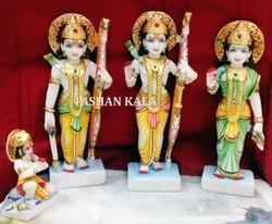 Marble Ram Darbar Religious Statues