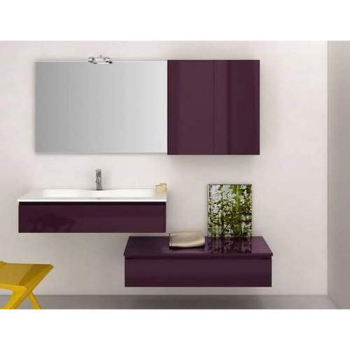 Brown And Silver Wooden Designer Bathroom Vanity Rs 1500 Square Feet Id 20002612362