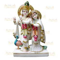 Marble Jugal Radha Krishna
