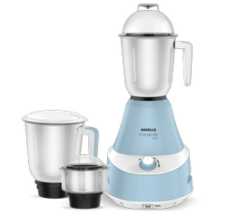 Sky Blue Havells Mixer Grinder, For Wet & Dry Grinding, 501 W - 750 W