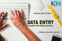 Online Typing Data Entry Project Outsourcing Services, Pan India