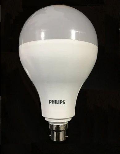 Philips 40w Led Bulb Base B22 Round
