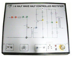 1 Phase Half Wave Half Controlled Rectifier Trainer