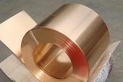 Berryllium copper strips
