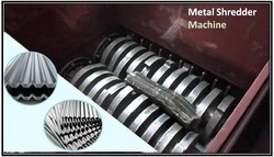 Small Metal Shredder Machine