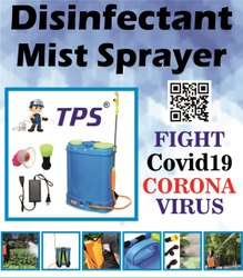 Disinfectant Mist Sprayer Battery Operated