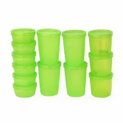 PNP Circle Plastic Kitchen Storage Containers