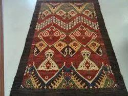 Multicolor Wool Jute Kilim