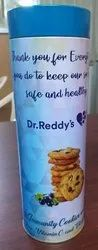 Immunity Boosting Cookies Tin Container