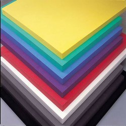 Polystyrene Coloured Plastic Sheets, Thickness: 0.8mm - 12mm, Size: 1.22 X 1.83,1.22 X 2.44 Meter