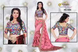 Ladies Cotton Designer Semi Stitched Blouse