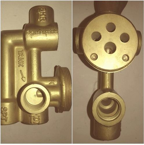 Brass Diverter 3 Inlet Royale