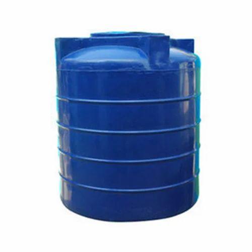 Water Storage Tanks >> Plastic Blue Water Tank Capacity 1000 10000 L Rs 3000 Piece Id
