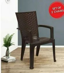 Nilkamal Plastic Chair 2225 Model or High Back Plastic chair