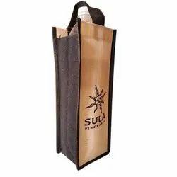 Printed Jute Bag, Size: 3.5x10x3 Inch