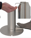 Foot Operated Manual Sanitizer Dispenser - Bollard for Corporate and Offices