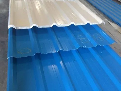 Blue Gi Roofing Sheets For Construction Rs 800 Piece Jainson Steel Centre Id 21269816488