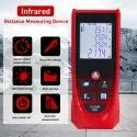 Laser Distance Meter Tape Measuring Length/Area/ Calculation Range 0.16 to 197 Ft/0.05 to 60 M