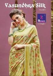 Shangrila Vasundhara Silk Vol-2 Rich Silk Saree Catalog Collection at Textile Mall