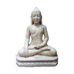 Marble Sitting Buddha Statue
