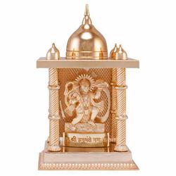 Golden (Gold Plated) Temple With Murti ( Guru Nanak Dev Ji) (L)