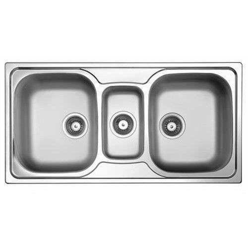 Sterling 3 Bowl Kitchen Sink  sc 1 st  IndiaMART & 3 Bowl Kitchen Sink