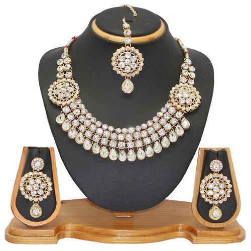 Indian Wedding Necklace Set at Rs 370 piece Andheri East Mumbai