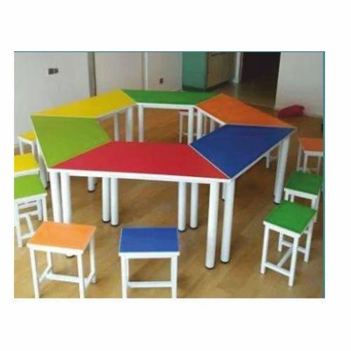 School Furniture Nursery Table Set Manufacturer