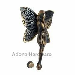 Fairy Lady Brass Door Knocker