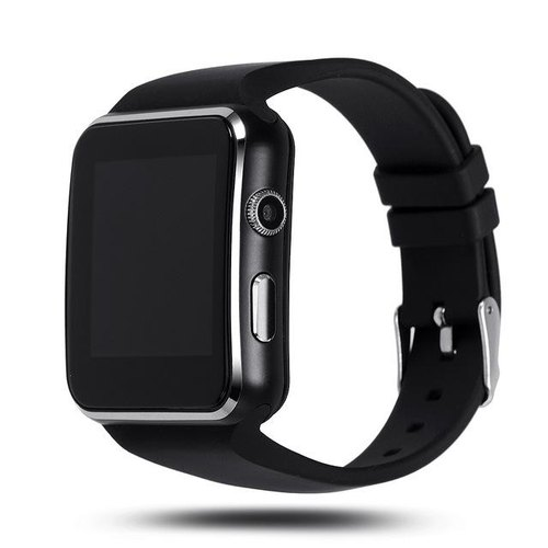 X6 Smartwatch Curve Display Bluetooth Smart Watch Phone With Camera And Sim  Card Support With Apps (