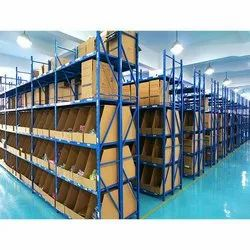 Five Shelves Color Coated Heavy Duty Storage Rack