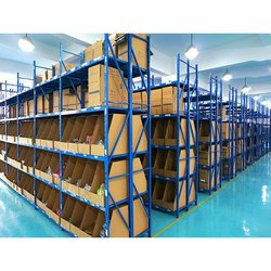 Five Shelves Color Coated Heavy Duty Storage Rack